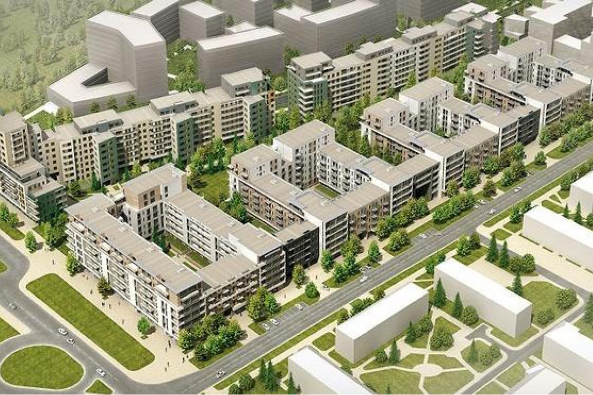 Osiedle Hubertus - Warszawa, Służewiec, ul. Obrzeżna 1C , Eco-Classic Sp. z o.o. - zdjęcie 1