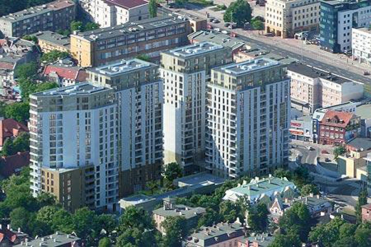 Quattro Towers - Gdańsk, Piecki - Migowo, ul. Partyzantów 8-14, Hines Polska Sp. z o.o. - zdjęcie 1