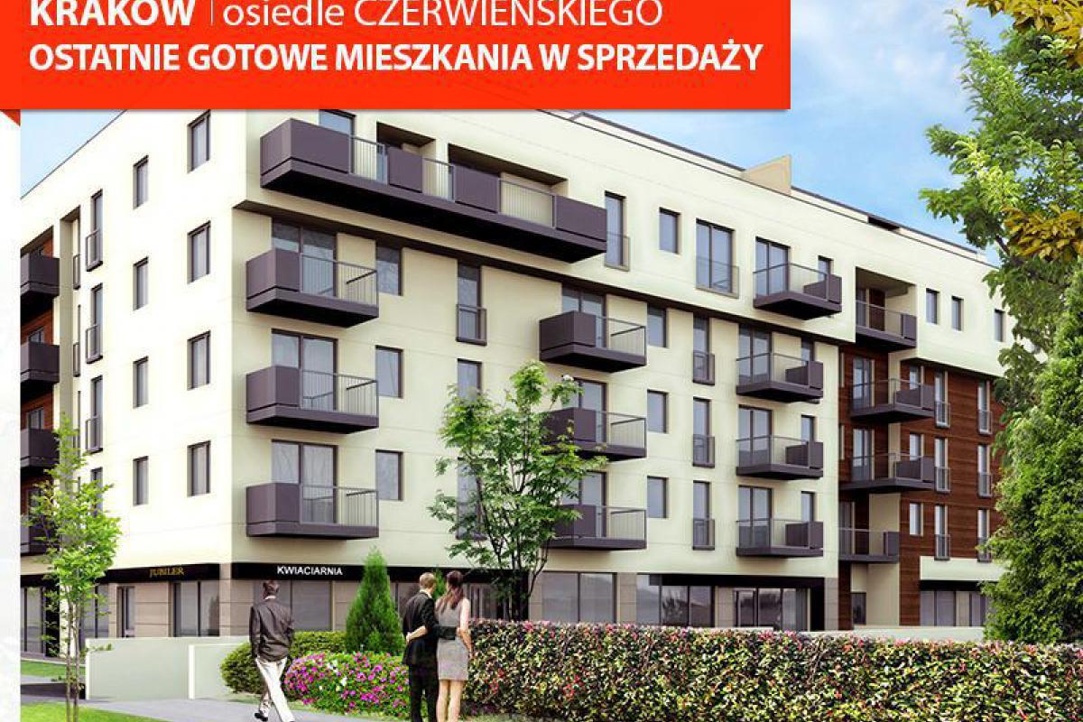 Murapol - Atrium Czerwieńskiego - ostatnie mieszkanie w centrum Krakowa - Kraków, Azory, ul. Czerwieńskiego, Murapol S.A. - zdjęcie 1