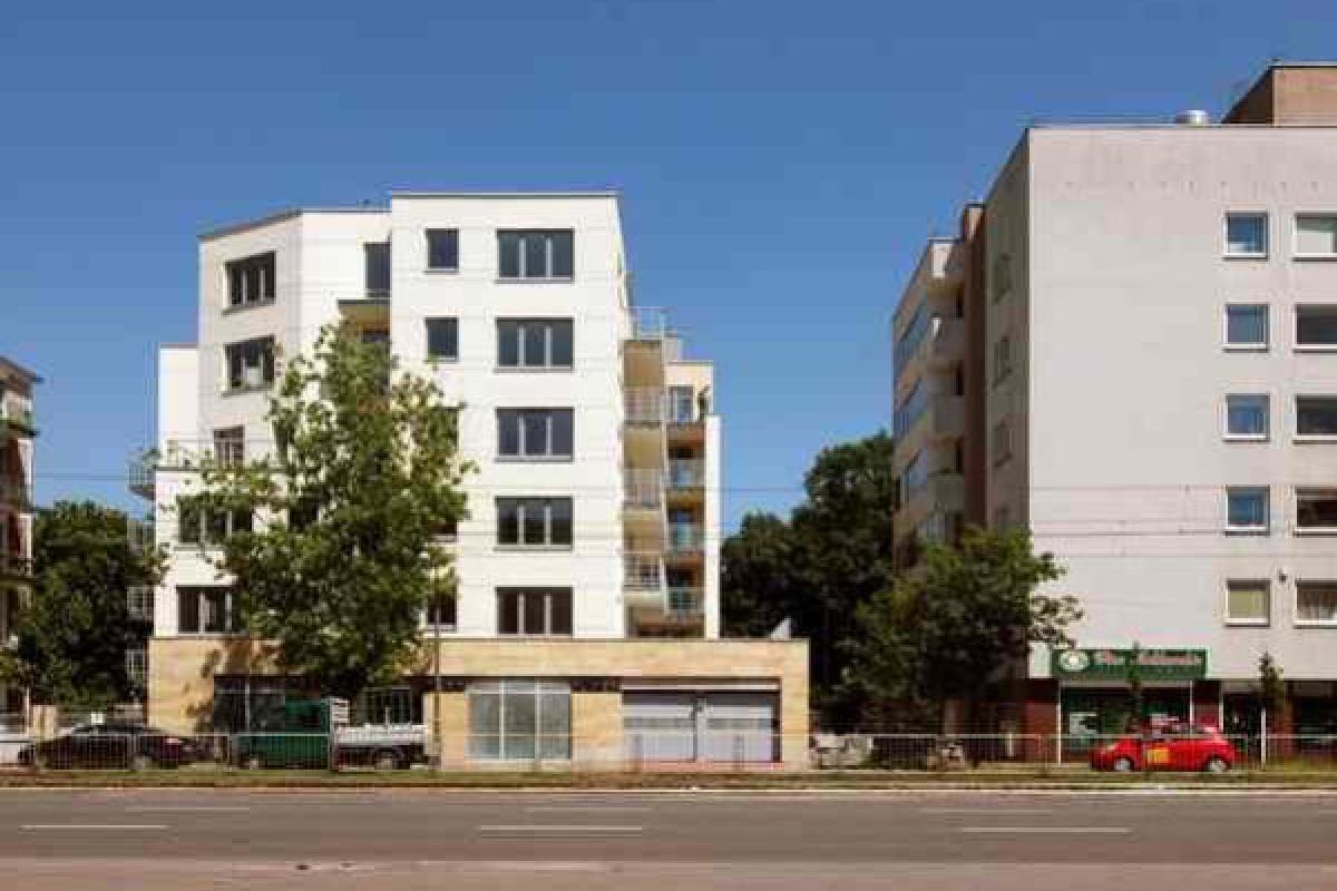 Grochowska 80/82 - Warszawa, Gocław, ul. Grochowska 80/82, SM Strop - zdjęcie 1