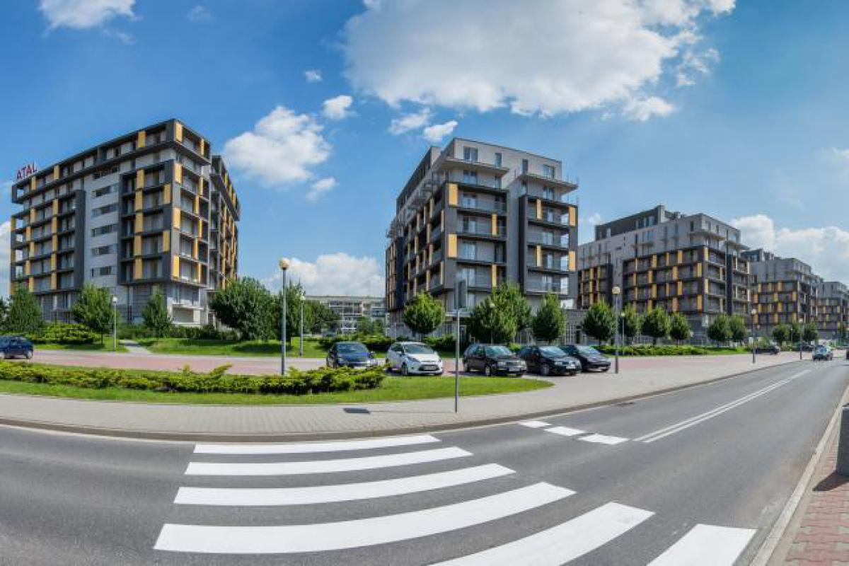 City Towers Czyżyny - Kraków, ul. Marii Dąbrowskiej, Atal S.A. - zdjęcie 1