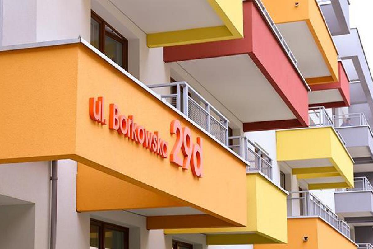 Borkowska B1 i B2 - inwestycja wyprzedana - Kraków, Kliny-Zacisze, ul. Borkowska, Wawel Service Sp. z o.o. SK - zdjęcie 2