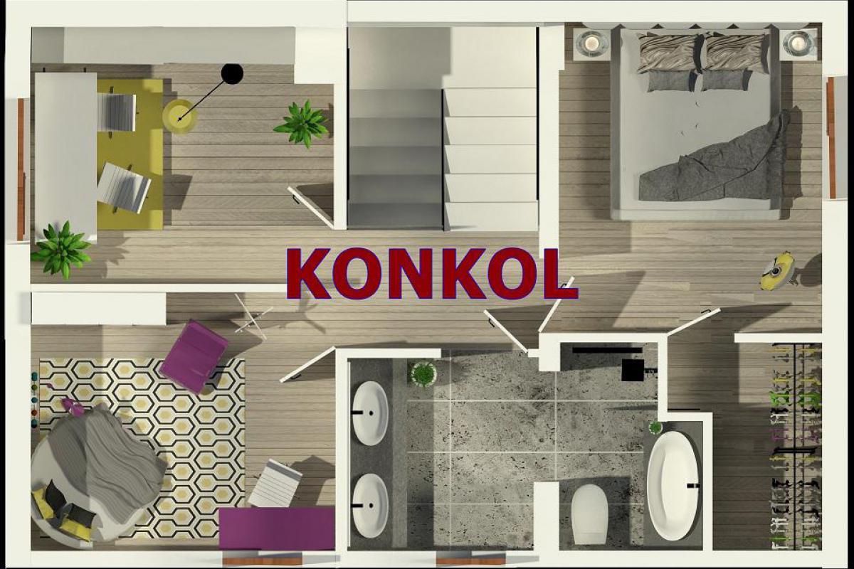 Domy w Rumianku - Rumianek, ul. Szkolna, KONKOL Development - zdjęcie 7