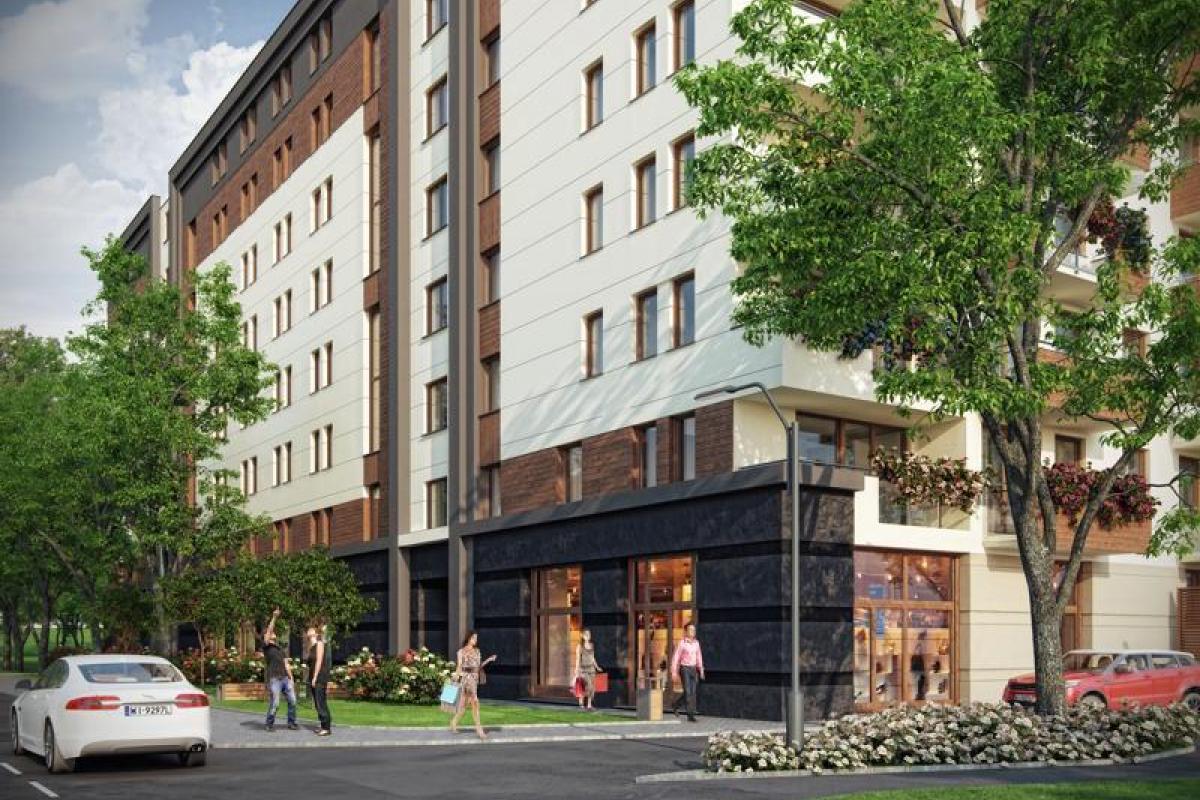 Grzegórzecka 77 - Kraków, Grzegórzki Wschód, ul. Grzegórzecka 77, LC Corp S.A. - zdjęcie 2