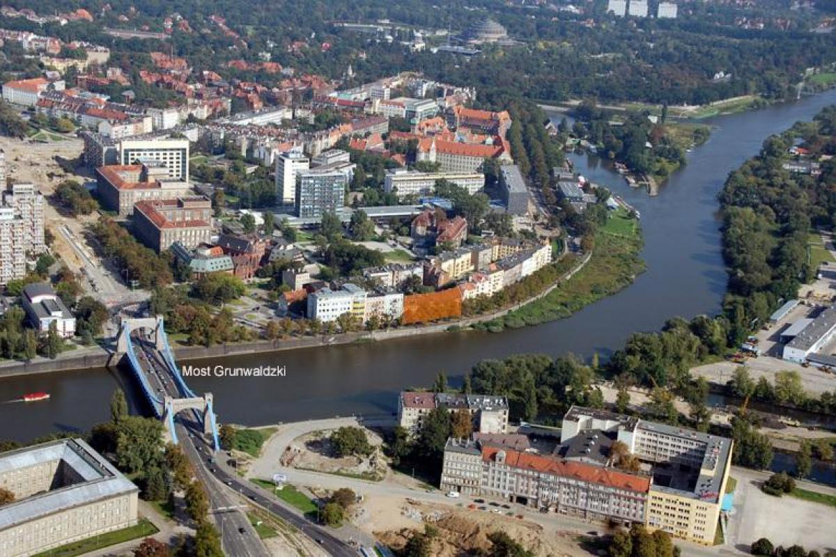 Apartamenty Wyspiańskiego 11 - Wrocław, Nowe Szczytniki, wybrzeże Stanisława Wyspiańskiego 11, Euro-dom Sp. z o. o. - zdjęcie 1