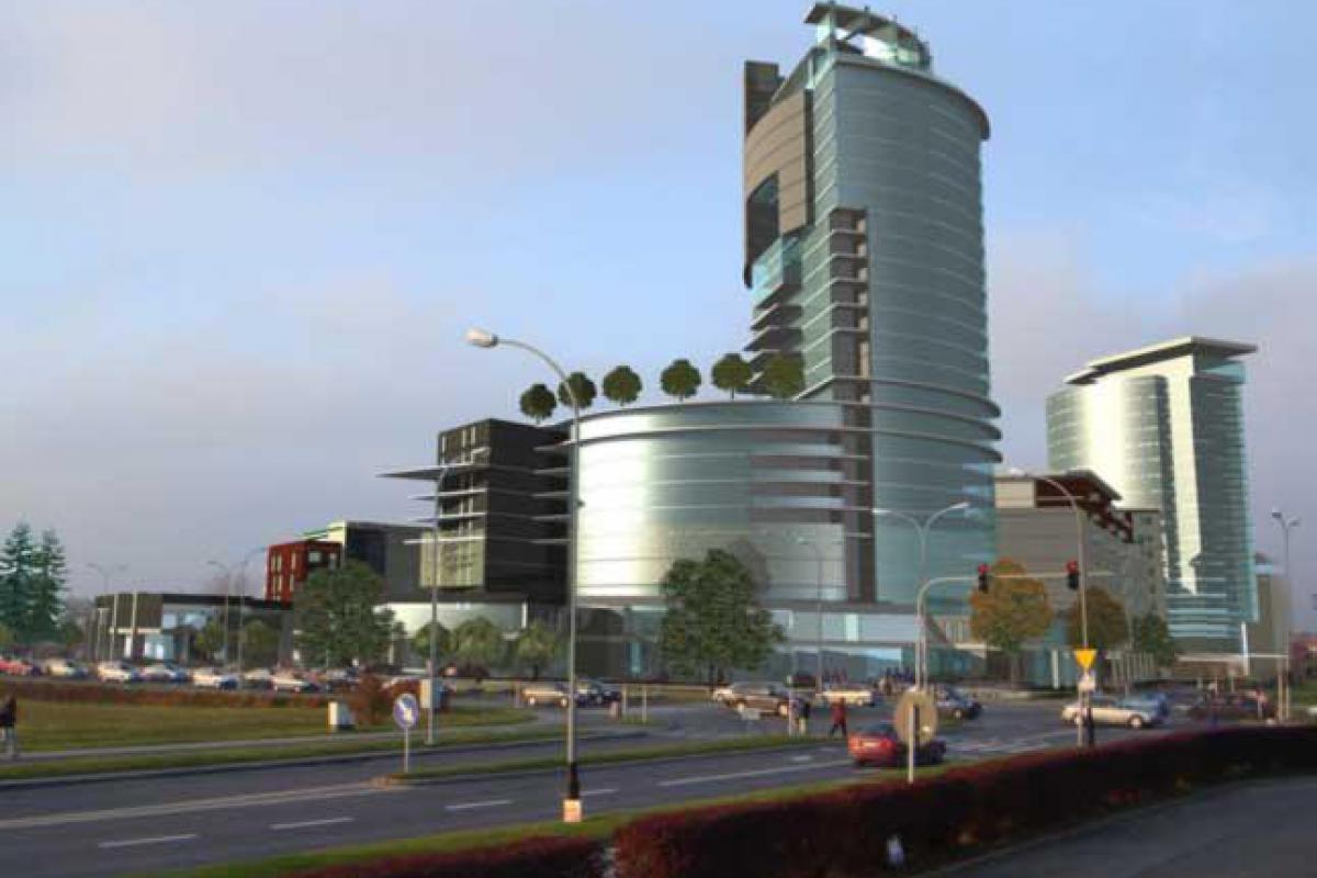 Capital Towers - Rzeszów, Nowe Miasto, ul. Podwisłocze, MM Capital Group - zdjęcie 1