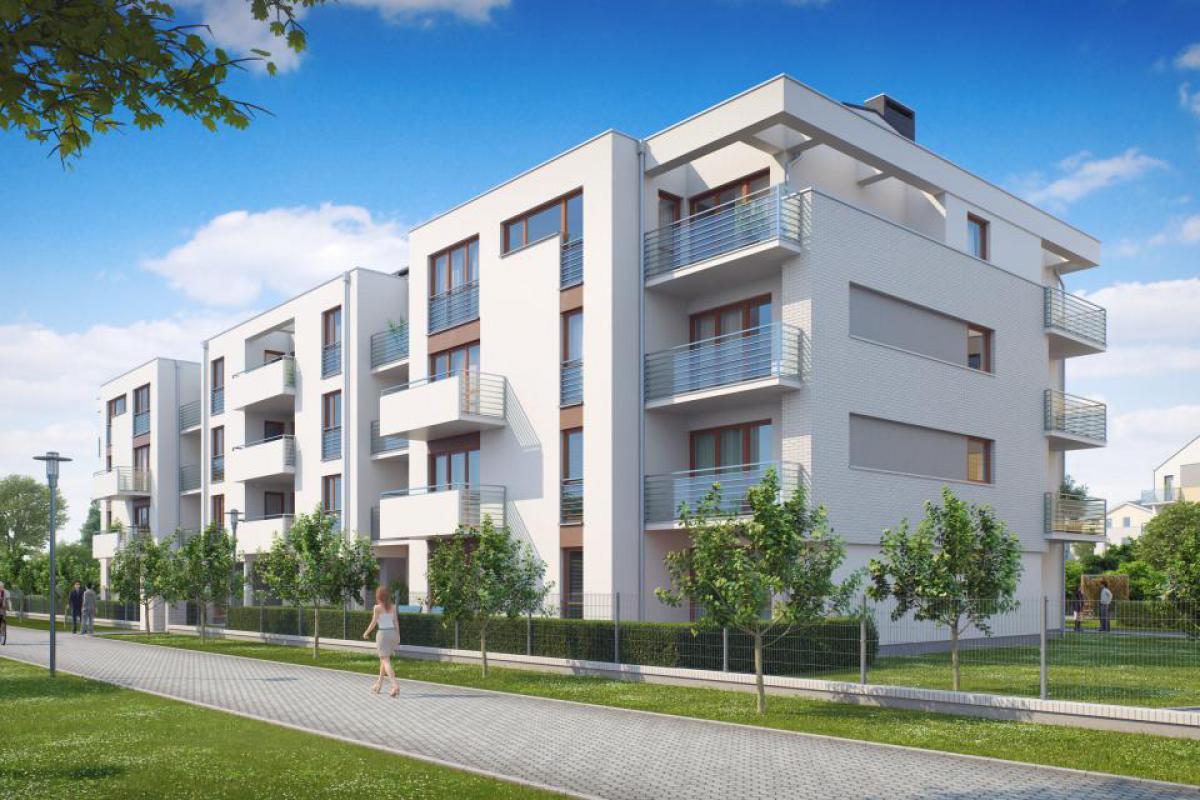 Małe Naramowice Pod Klonami - Poznań, Naramowice, ul. Czarnucha, Echo Investment S.A. - zdjęcie 1