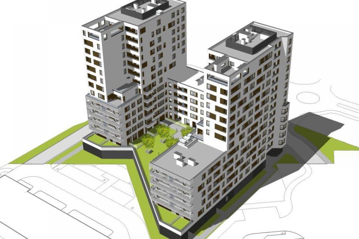 Osiedle Iskra VI - Warszawa, Gocław, ul. Jugosławiańska 17, ED Invest S.A. - zdjęcie 3