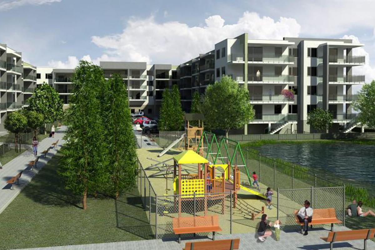 Osiedle Centrum Park I - Radzymin, ul. Falandysza, Willa Developer Sp. z o.o. Sp.k - zdjęcie 3