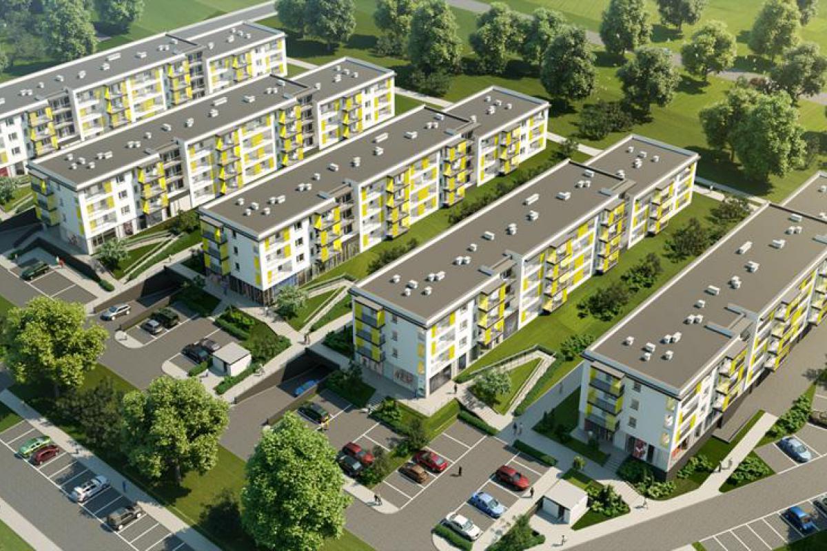 Osiedle Marina - Lublin, Wrotków, ul. Nałkowskich, Wikana S.A. - zdjęcie 1