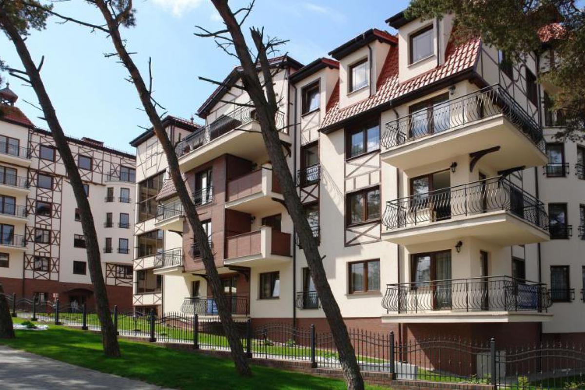Apartamenty Continental - inwestycja wyprzedana - Krynica Morska, ul. Przyjaźni, Przedsiębiorstwo Budowlane MARGO - zdjęcie 1