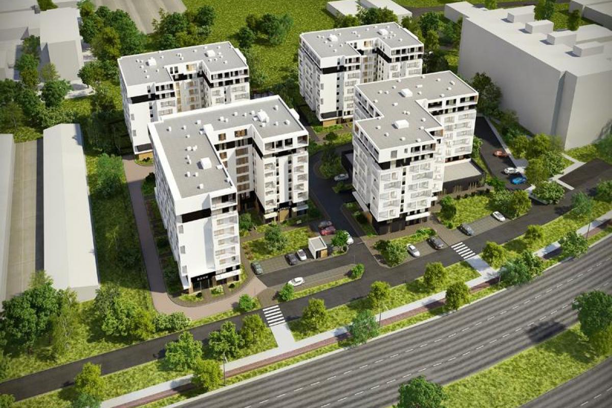 ul. Marii Dąbrowskiej - II etap - Kraków, ul. Marii Dąbrowskiej, Dasta Invest Sp. z o.o. - zdjęcie 3