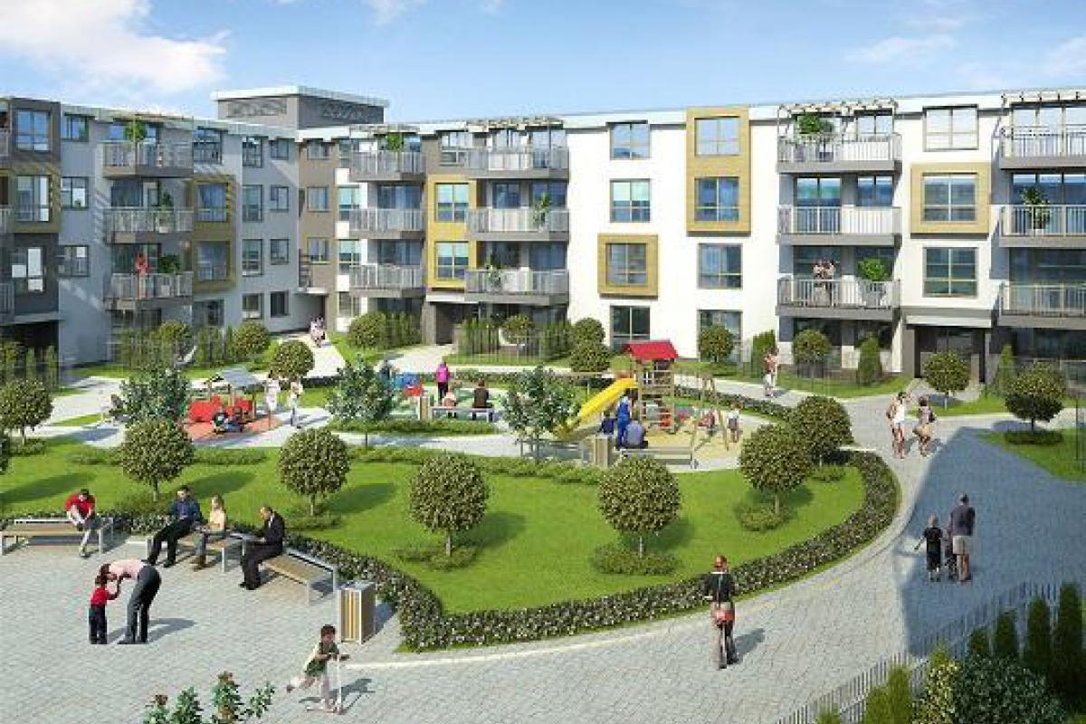 Aura Garden - Warszawa, Kobiałka, ul. Ostródzka, Mill-Yon Development - zdjęcie 1