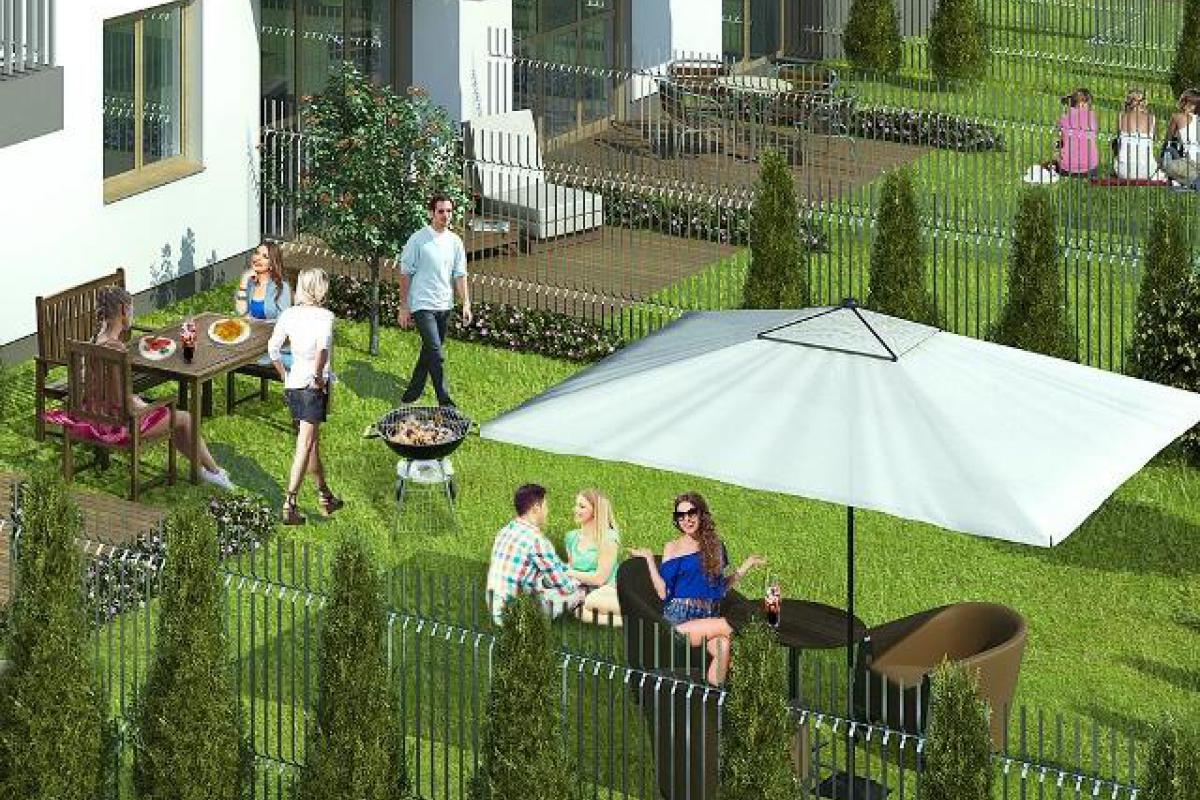 Aura Garden - Warszawa, Kobiałka, ul. Ostródzka, Mill-Yon Development - zdjęcie 3