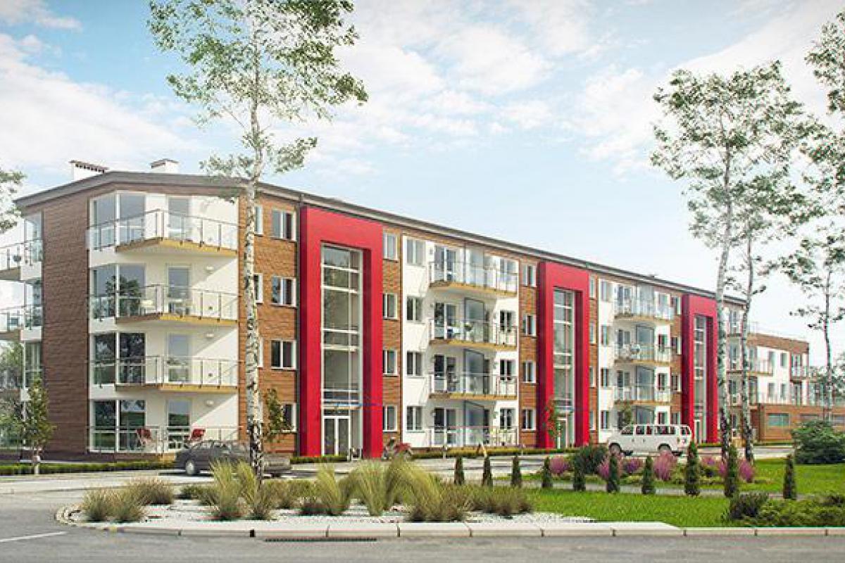 Apartamenty Strażacka 52c - inwestycja wyprzedana - Rzeszów, Nowe Miasto, ul. Strażacka, Deweloper APKLAN  - zdjęcie 2
