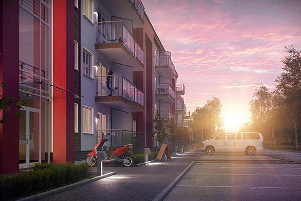 Apartamenty Strażacka 52c - inwestycja wyprzedana - Rzeszów, Nowe Miasto, ul. Strażacka, Deweloper APKLAN  - zdjęcie 5