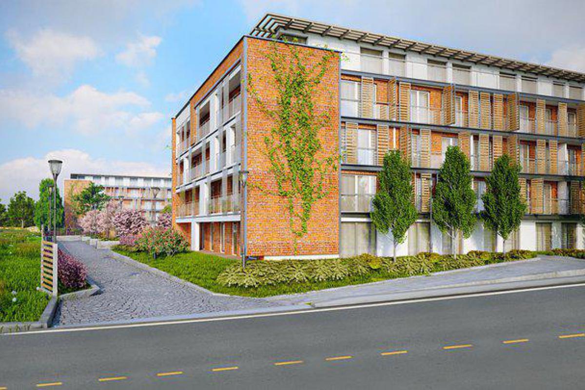 Bulevar Verde - Kraków, Nowa Huta, ul. Bulwarowa, Vivienda Investment Sp. z o.o. Sp. k. - zdjęcie 1