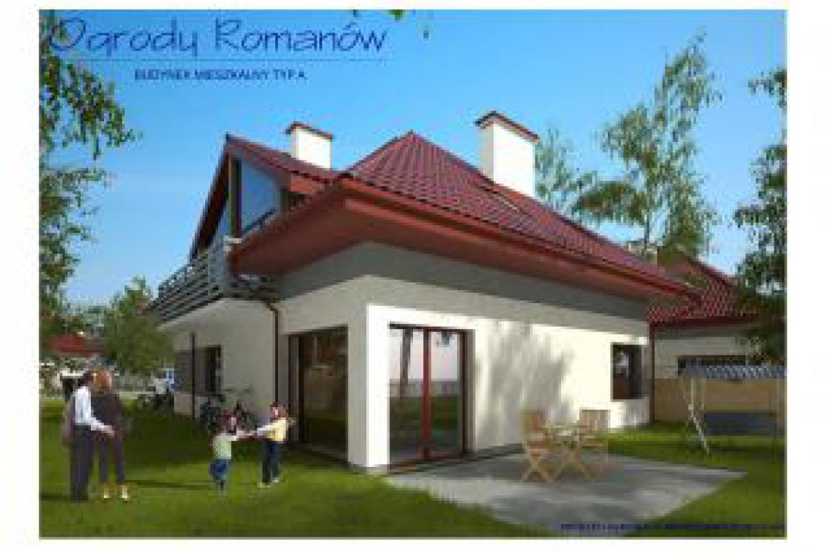 Mieszkania w domach dwulokalowych z działką - Łódź, ul. Ogrody Romanów, Prywatna Korporacja Mieszkaniowa Sp. z o.o - zdjęcie 1