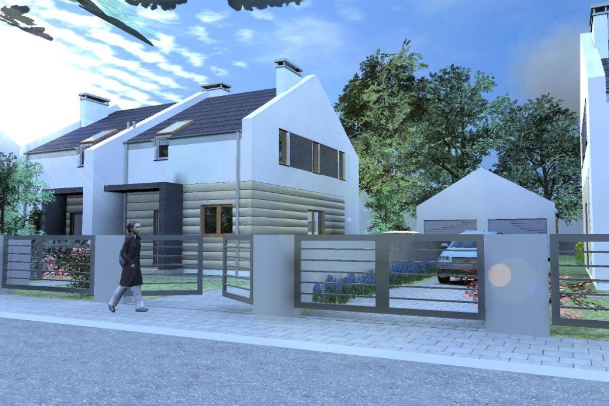 Czmoń - osiedle domów w zabudowie szeregowej - Czmoń, Gephouse Sp. z o.o. Sp.k. - zdjęcie 1