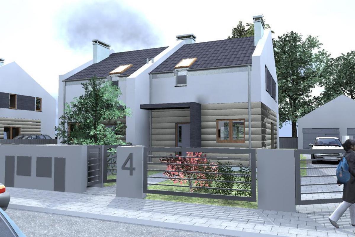 Czmoń - osiedle domów w zabudowie szeregowej - Czmoń, Gephouse Sp. z o.o. Sp.k. - zdjęcie 2