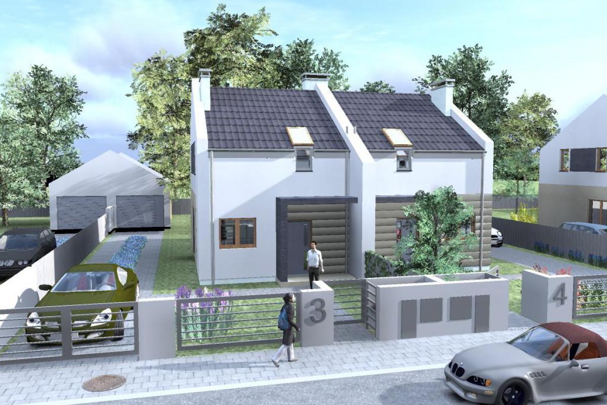 Czmoń - osiedle domów w zabudowie szeregowej - Czmoń, Gephouse Sp. z o.o. Sp.k. - zdjęcie 3