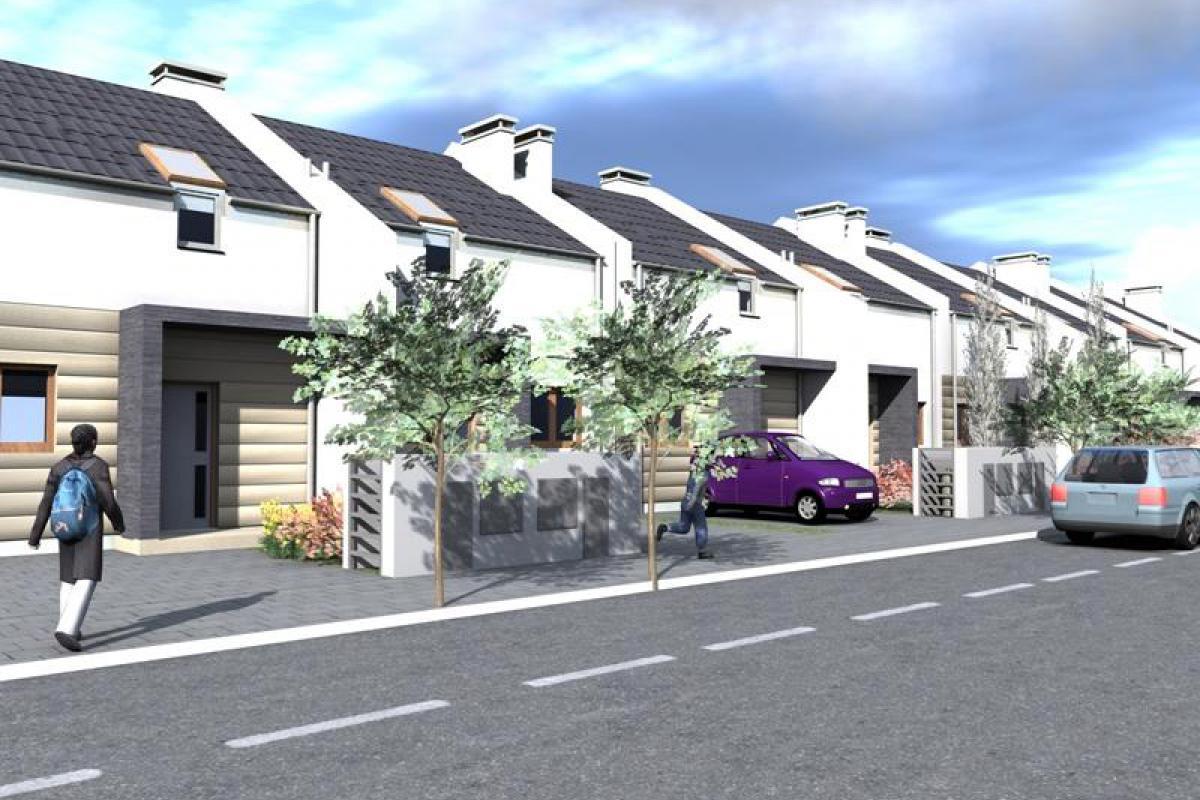 Czmoń - osiedle domów w zabudowie szeregowej - Czmoń, Gephouse Sp. z o.o. Sp.k. - zdjęcie 6