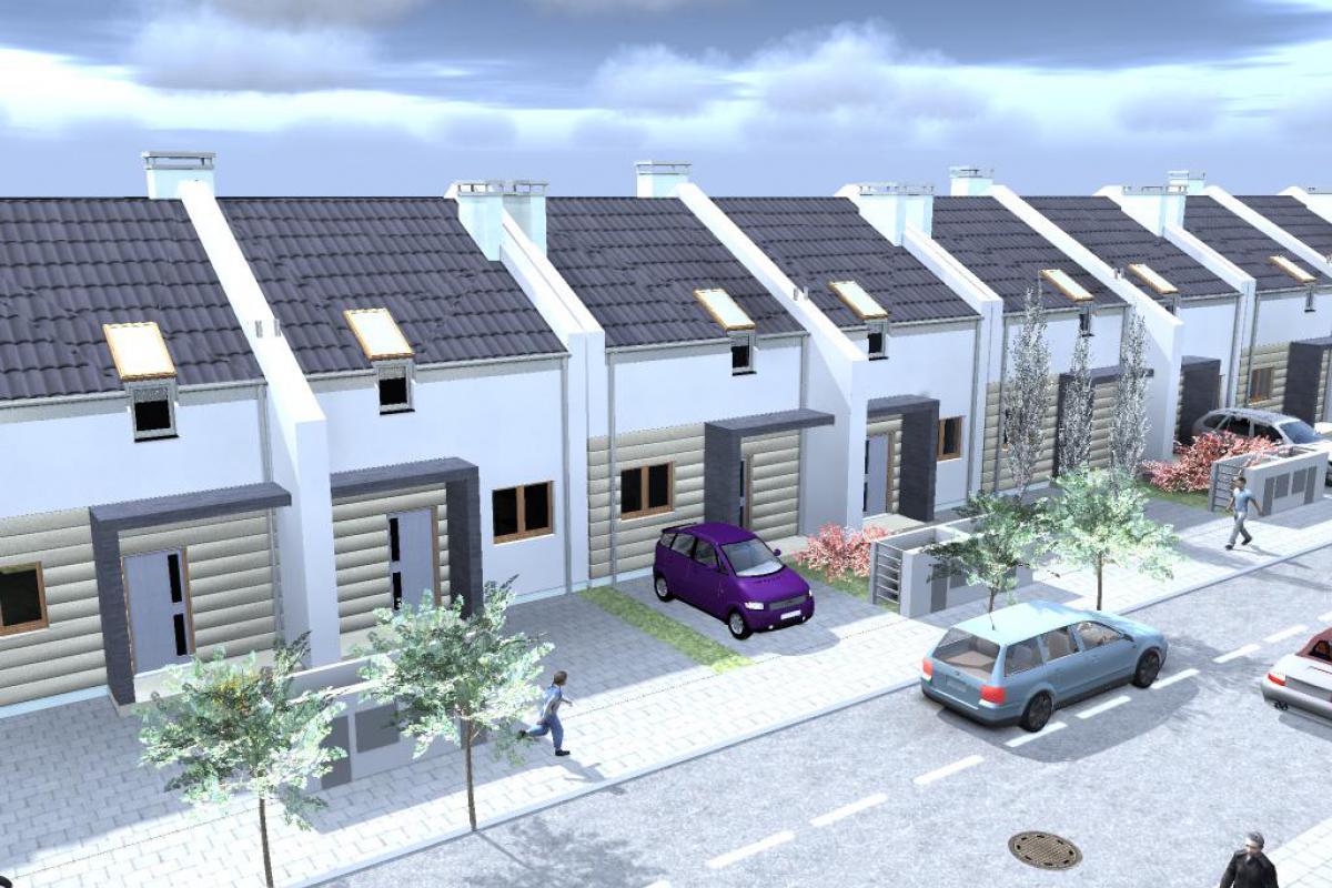 Czmoń - osiedle domów w zabudowie szeregowej - Czmoń, Gephouse Sp. z o.o. Sp.k. - zdjęcie 7