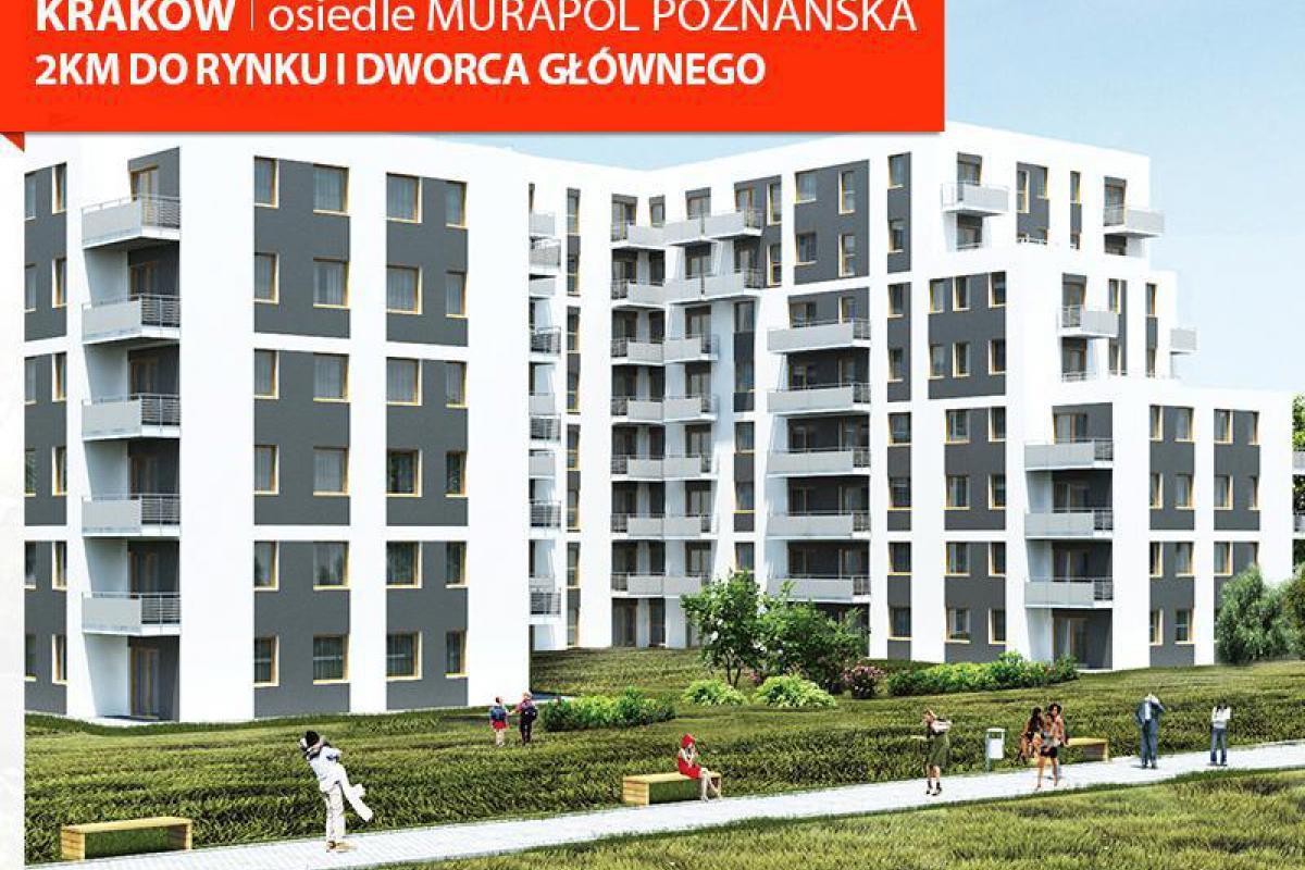 Murapol - Osiedle Murapol Poznańska - nowe mieszkanie już od 854 zł/miesięcznie - Kraków, Krowodrza, ul. Poznańska 7, Murapol S.A. - zdjęcie 1