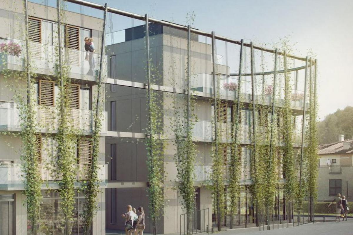 Apartamenty Antracita - Kraków, Półwsie Zwierzynieckie, ul. Piastowska, Proxima - Service Sp. z o.o. - zdjęcie 1