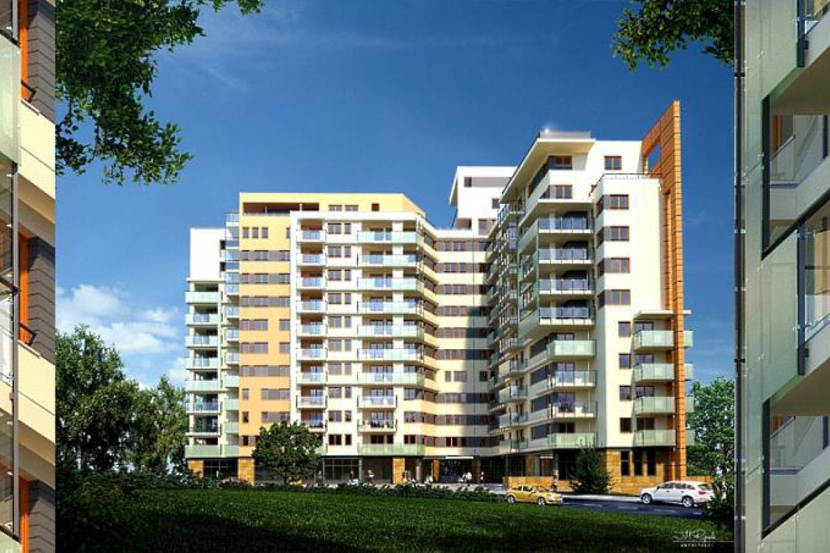 Panoramika - Łódź, Widzew, ul. Bartoka, BUDOMAL - zdjęcie 2