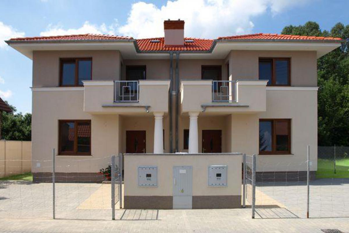 Domy jednorodzinne ul. Sobotecka - Poznań, Stary Grunwald, ul. Sobotecka 2, 4, Algrunt Inwestycje - zdjęcie 1