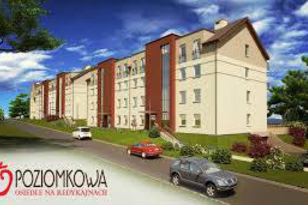 Osiedle Redykajny ul. Poziomkowa budynek nr 2 - Olsztyn, ul. Poziomkowa, MAS-BUD Przedsiębiorstwo Budowlane - zdjęcie 1