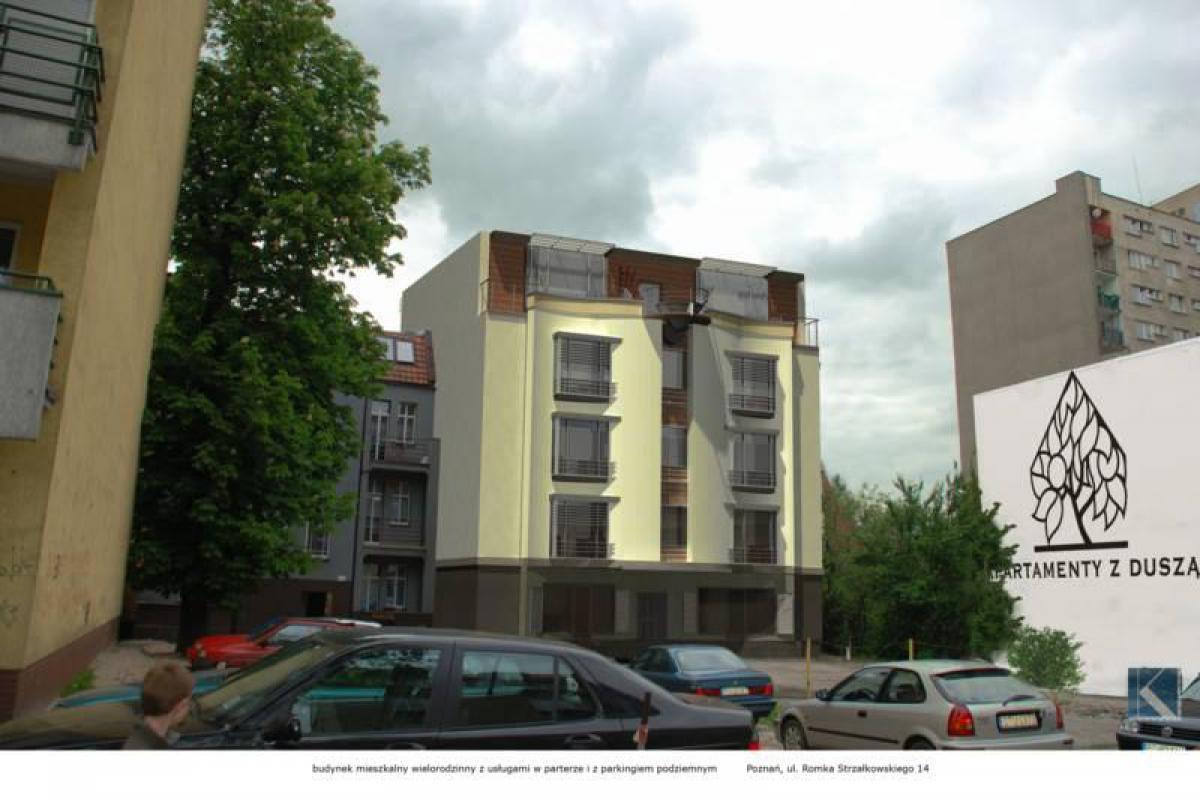Strzałkowskiego 14 - Poznań, Jeżyce - Osiedle, ul. Strzałkowskiego 14, Apartamenty z Duszą - zdjęcie 7