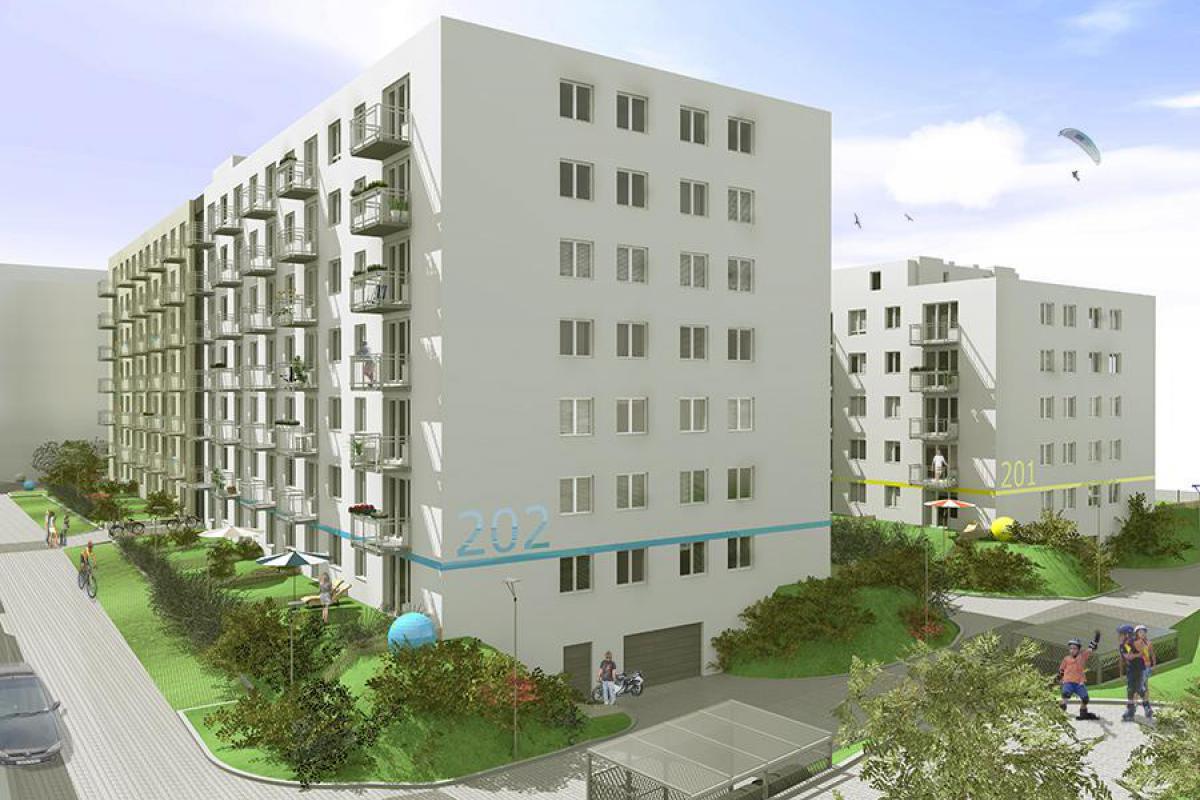 Osiedle Pionierów - Potulicka - Szczecin, Nowe Miasto, ul. Potulicka, Sowińskiego 72 Sp. z o.o. - zdjęcie 3