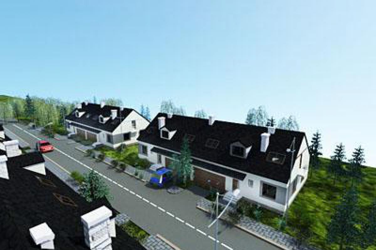 Domy w Krzyszkowie - Krzyszkowo, Bram - Best Constructa - zdjęcie 1