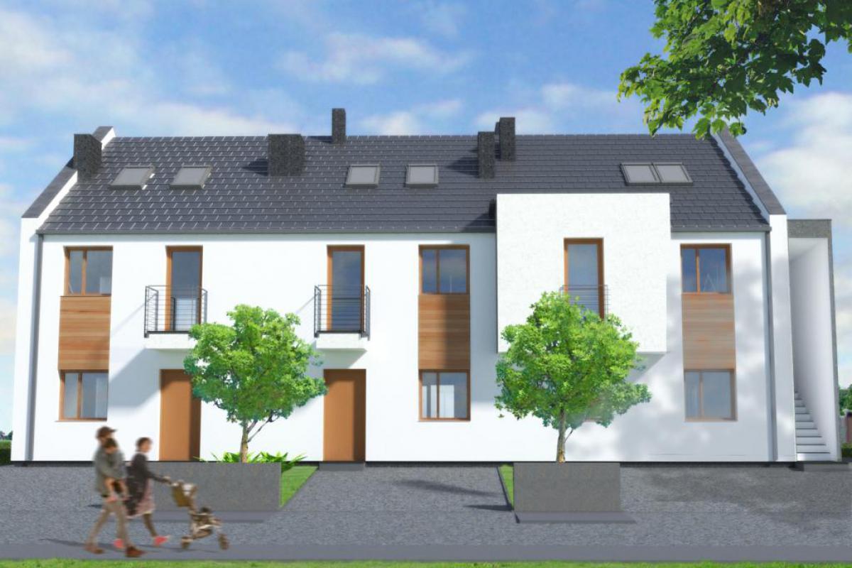Zielone Wzgórze - Mieszkania willowe - Wrocław, ul. Siedlecka, Centre of Trade Estate S.A. - zdjęcie 1