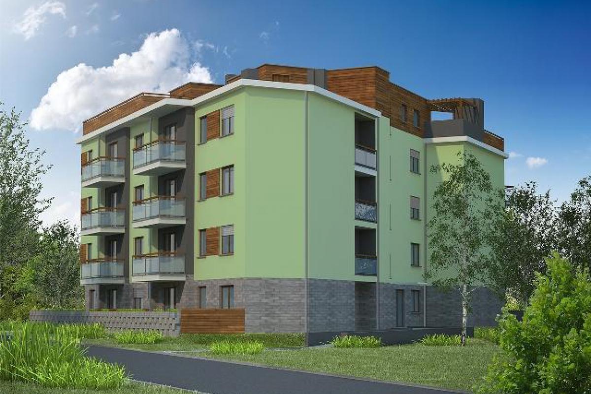 Apartamenty przy Zagony - Wrocław, Muchobór Wielki, ul. Zagony, Ekodom Deweloper Sp. z o.o. - zdjęcie 1