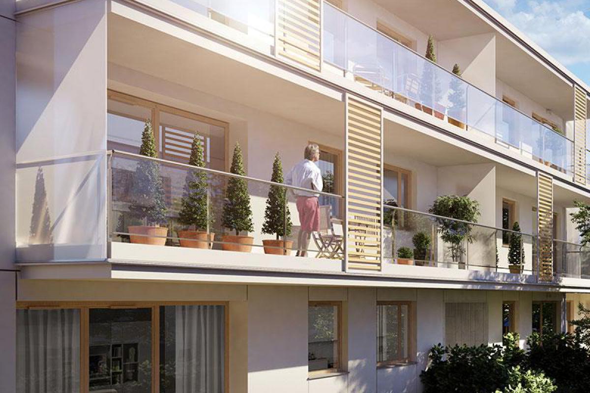 Jaśminowy Mokotów - Warszawa, Stegny, ul. Jaśminowa, Skanska Residential Development Poland Sp. z o.o. - zdjęcie 1