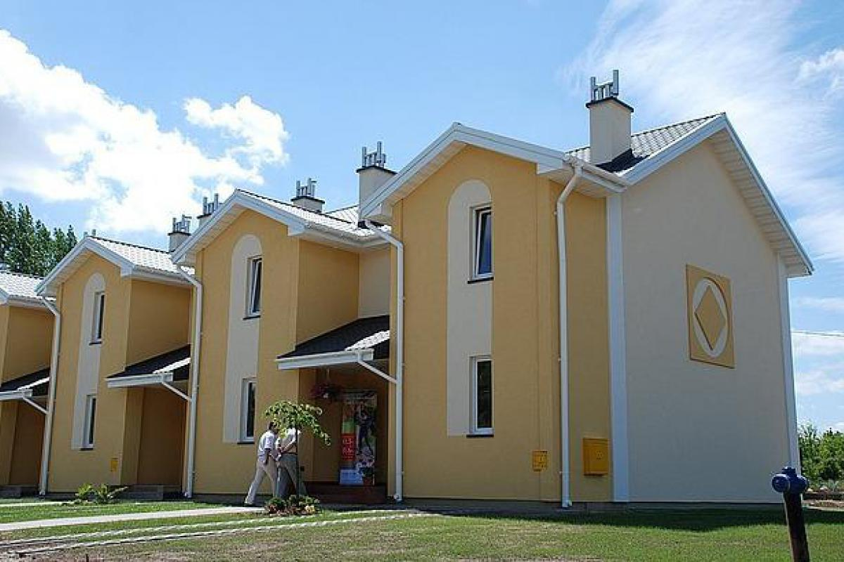 Osiedle w Muninie - Miunina, ul. Kolejowa, AmTech Sp. z o.o. - zdjęcie 1