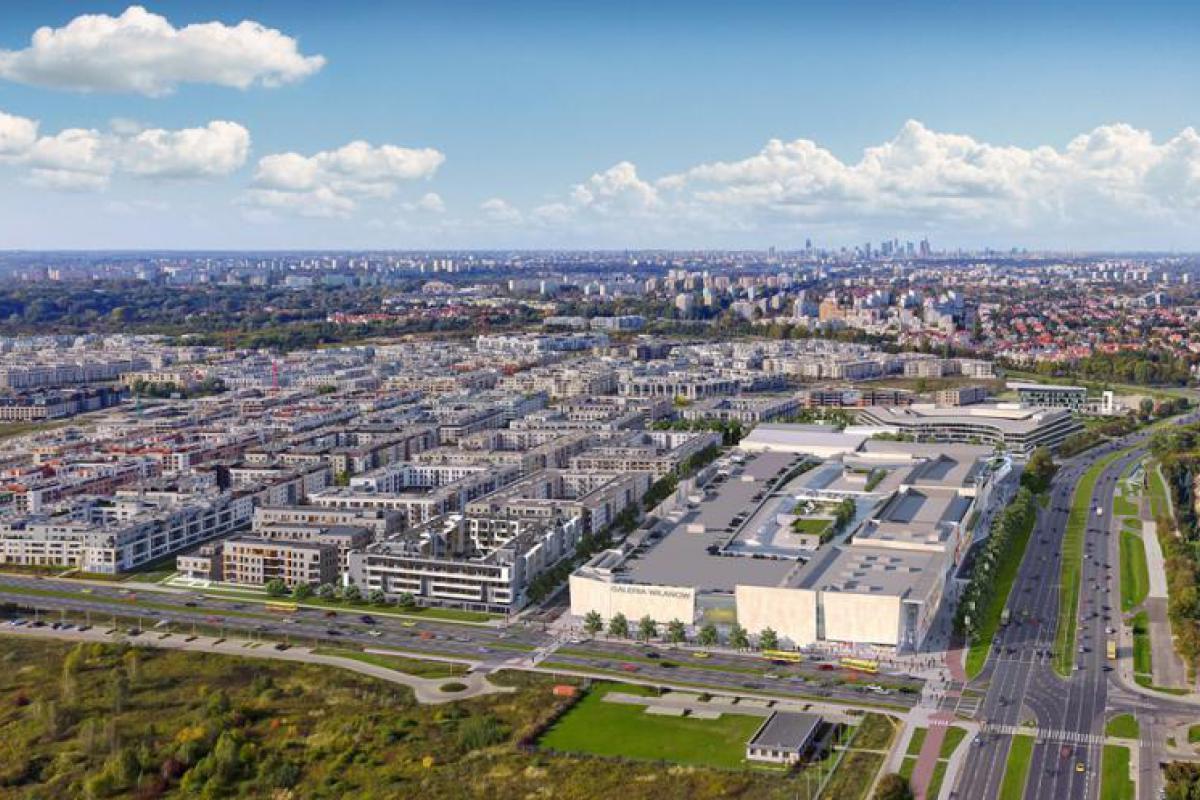 Śródmieście Wilanów - budynek E - Warszawa, ul. Kazachska, Polnord S.A. - zdjęcie 1