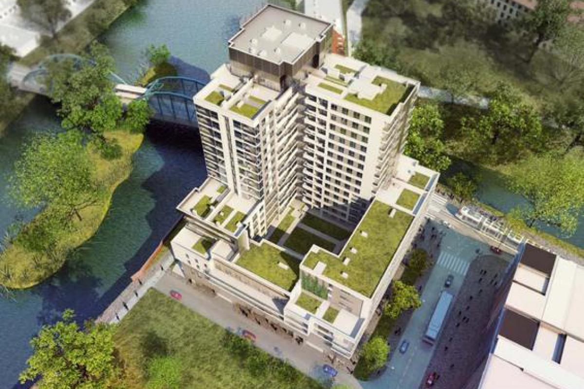 Odra Tower - Wrocław, ul. Sikorskiego 2, Gant Development S.A. - zdjęcie 3