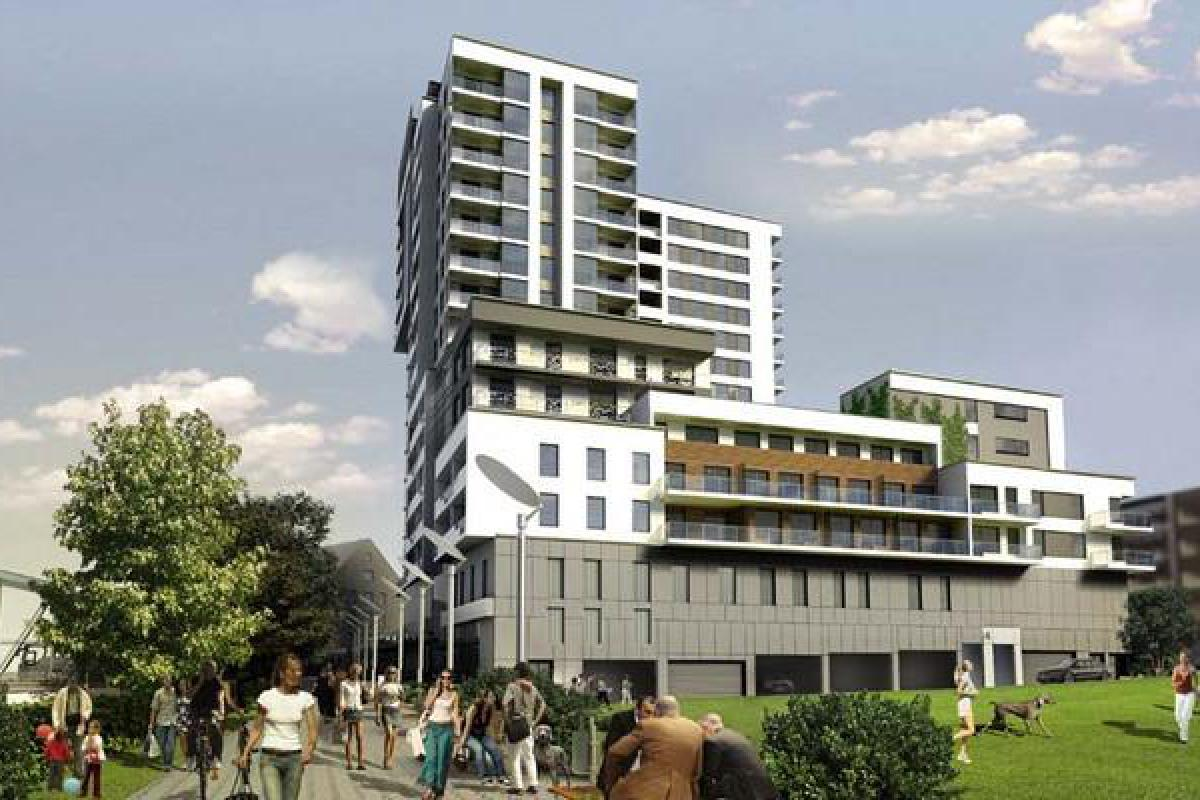 Odra Tower - Wrocław, ul. Sikorskiego 2, Gant Development S.A. - zdjęcie 4