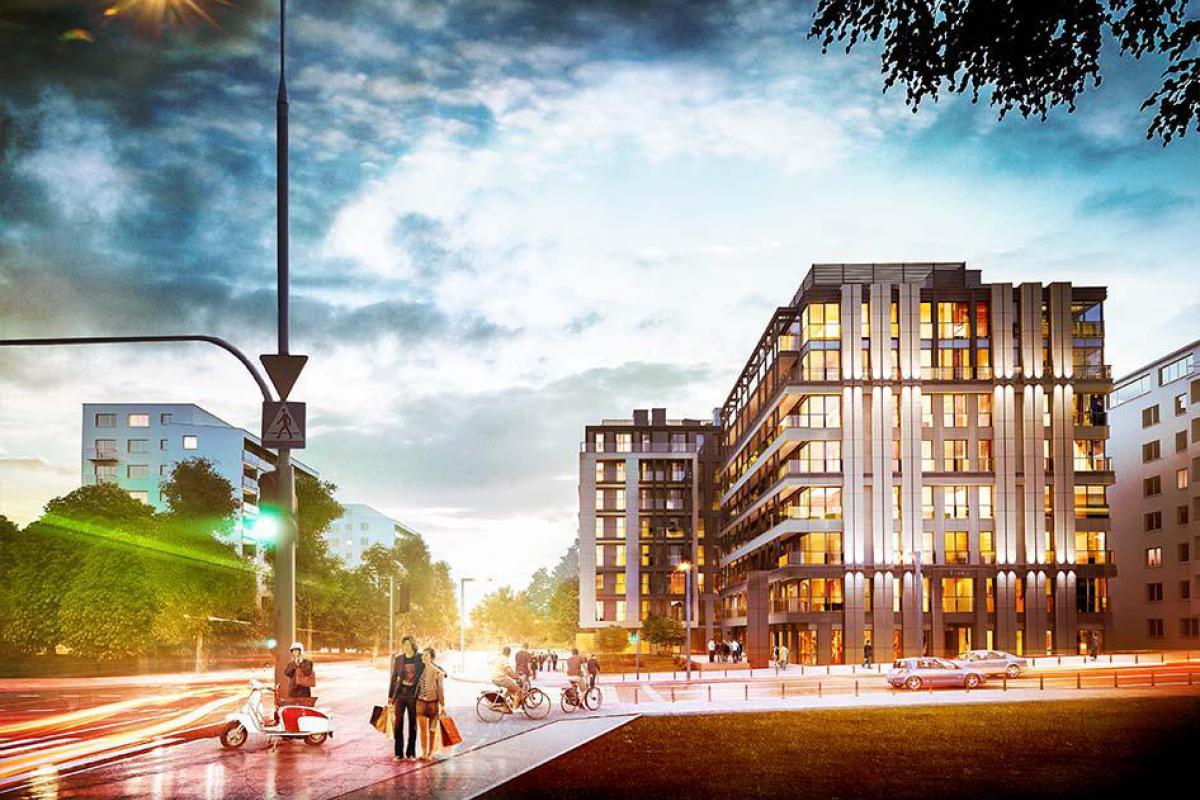 Tamka 29 Apartamenty - Warszawa, Powiśle, ul. Tamka 29, Ronson Development - zdjęcie 3