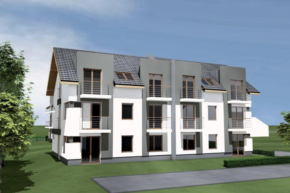 Apartamenty Brzegowa 21 - Kraków, Wola Justowska, ul. Brzegowa 21, Termotrans Sp. z o. o. - zdjęcie 1