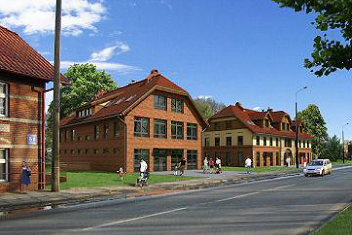 Centrum Nowy Park - Pruszcz Gdański, Głębokie, ul. Grunwaldzka, Trójmiejska Grupa Inwestycyjna Sp. z o.o. - zdjęcie 1