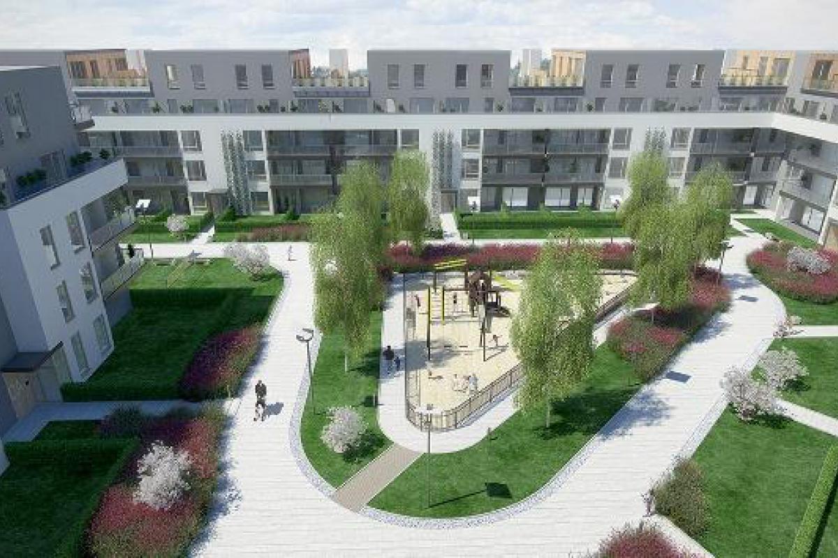 Espace Wilanów - Warszawa, Błonia Wilanowskie, al. Rzeczypospolitej 20, Bouygues Immobilier Polska Sp. z o.o. - zdjęcie 2
