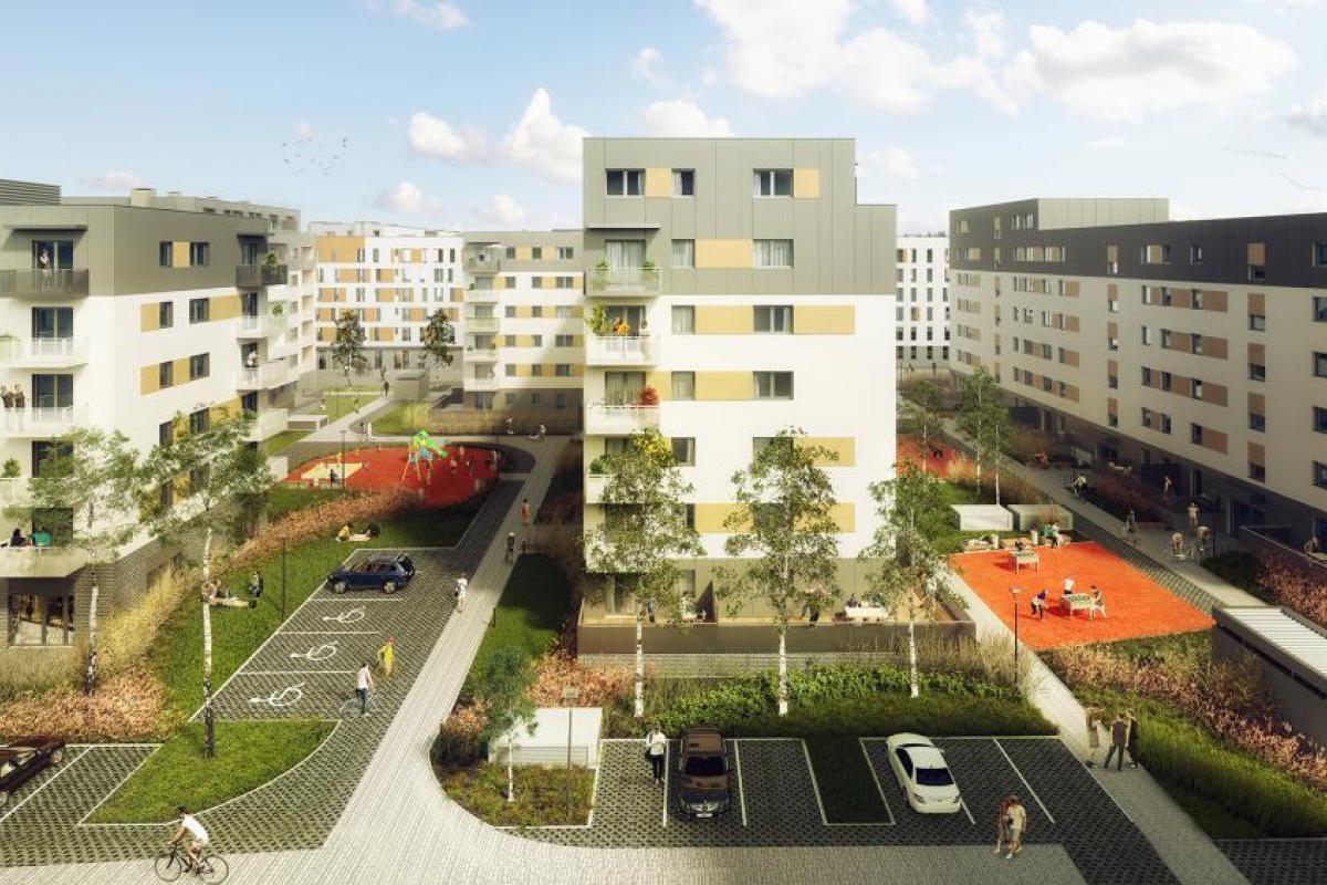 Promenady Wrocławskie - Wrocław, Kleczków, ul. Zakładowa, Vantage Development S.A. - zdjęcie 12