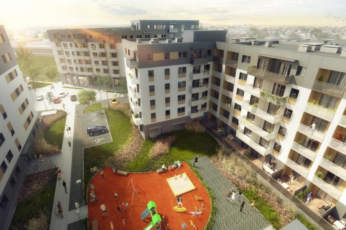 Promenady Wrocławskie - Wrocław, Kleczków, ul. Zakładowa, Vantage Development S.A. - zdjęcie 14
