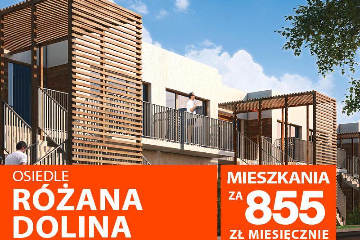 RÓŻANA DOLINA Mieszkanie w programie Mieszkanie dla Młodych - Wrocław, ul. Bałkańska, Murapol S.A. - zdjęcie 1