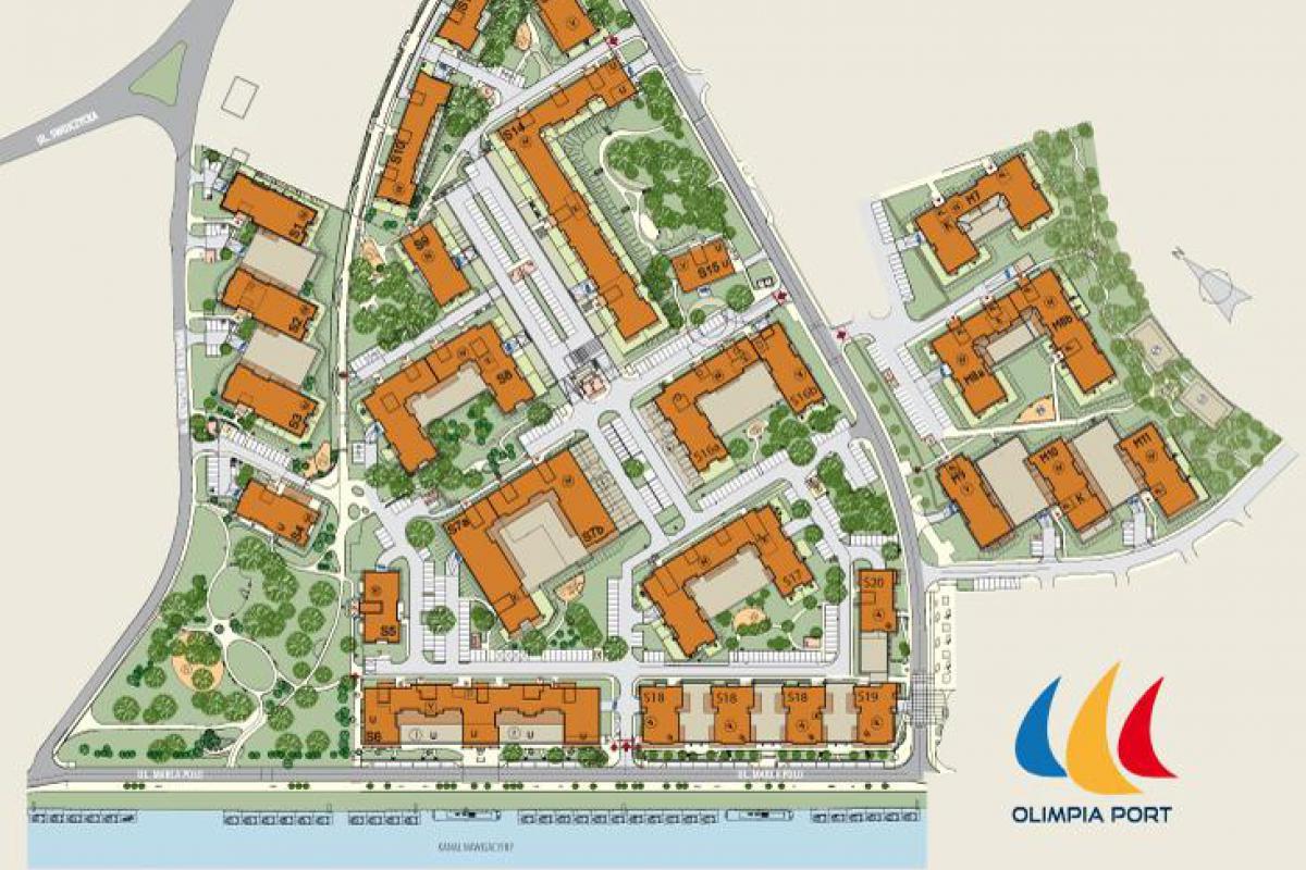 Olimpia Port - Wrocław, Swojczyce, ul. Kolumba/ ul. Marca Polo, Archicom S.A. - zdjęcie 1